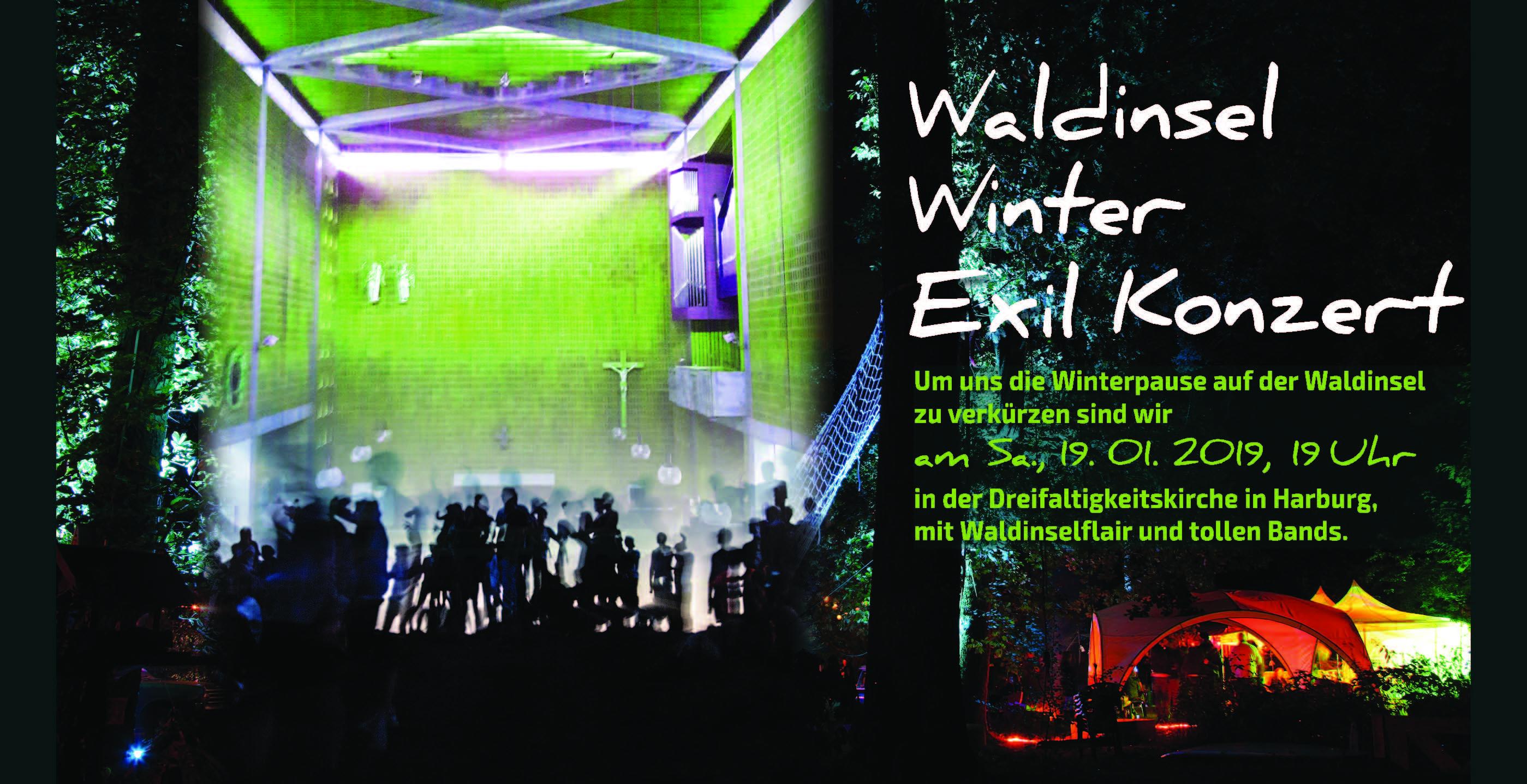 Waldinsel Exil Konzert 19.01.2019 Druck LangDin Seite 1 Waldinsel Exil Konzert