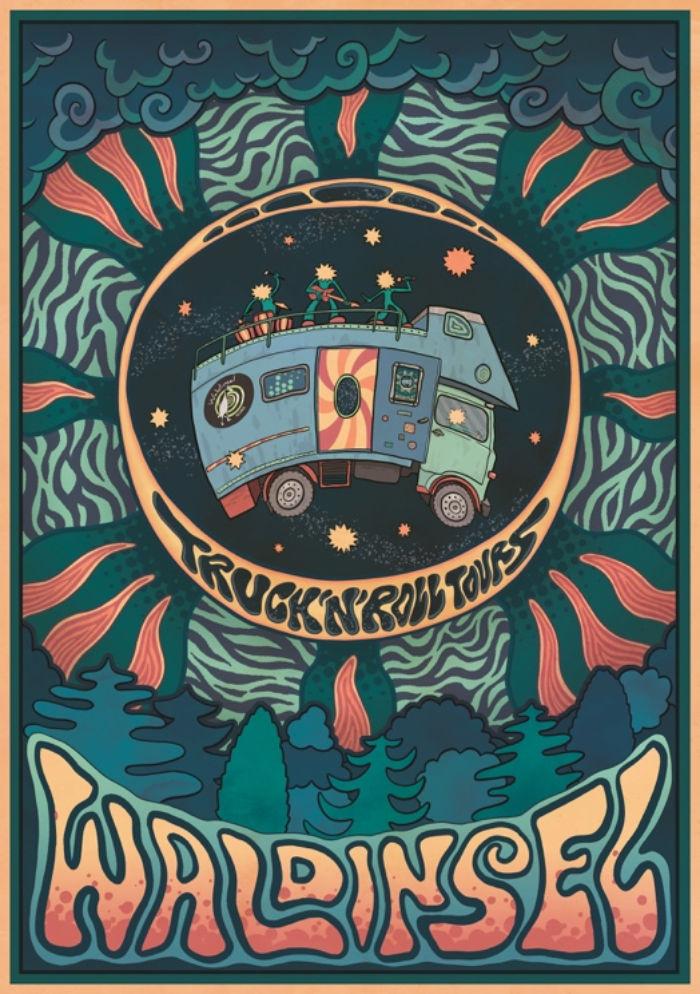 Waldinsel - Lasterkonzerte - Truck'n'Roll Tours
